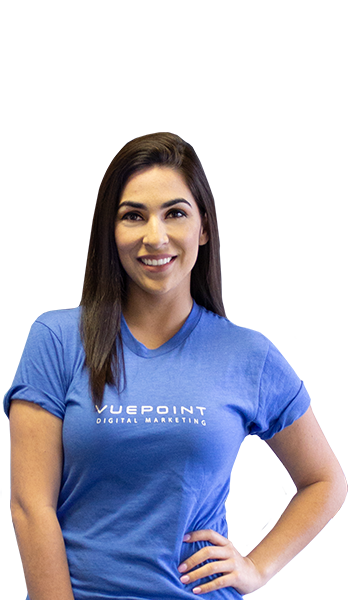 Christina from the Vuepoint Team