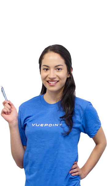 Consuelo from the Vuepoint team
