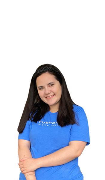 Estefania from the Vuepoint Team