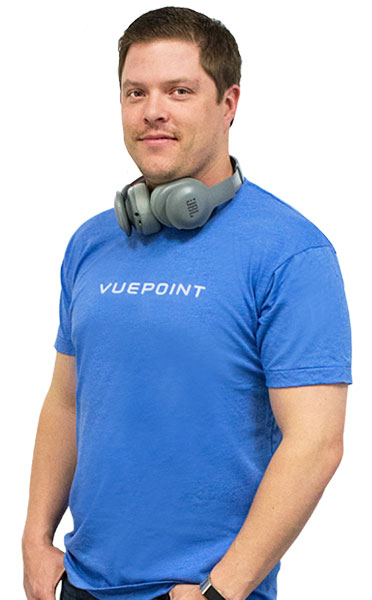 Tye from the Vuepoint Team