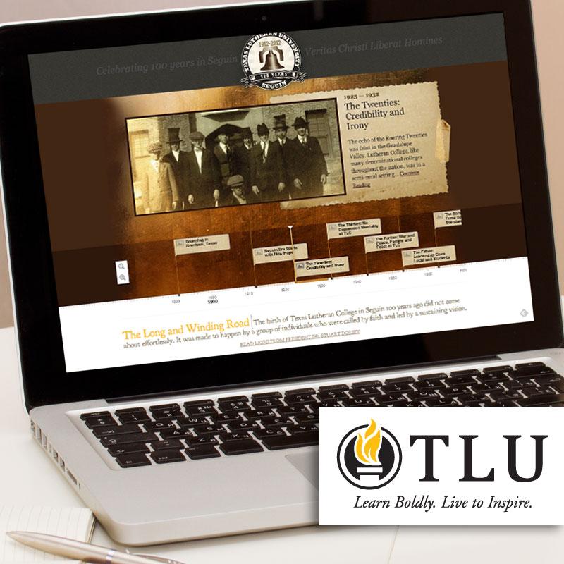 TLU: 100 Years Minisite