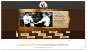 TLU 100 Years Minisite