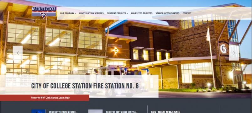 Bartlett Cocke Web Design Home Page