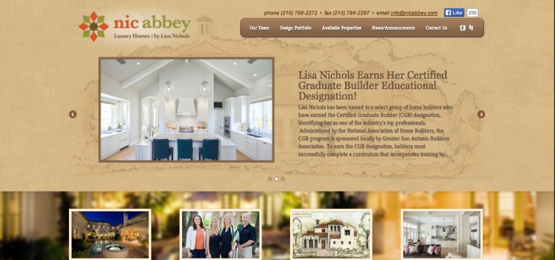 San Antonio Luxury Homes By Nic Abbey With A Website To Match Vuepoint Agency Digital Marketing