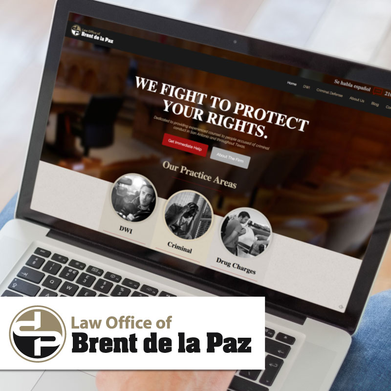 Brent delaPaz: Website