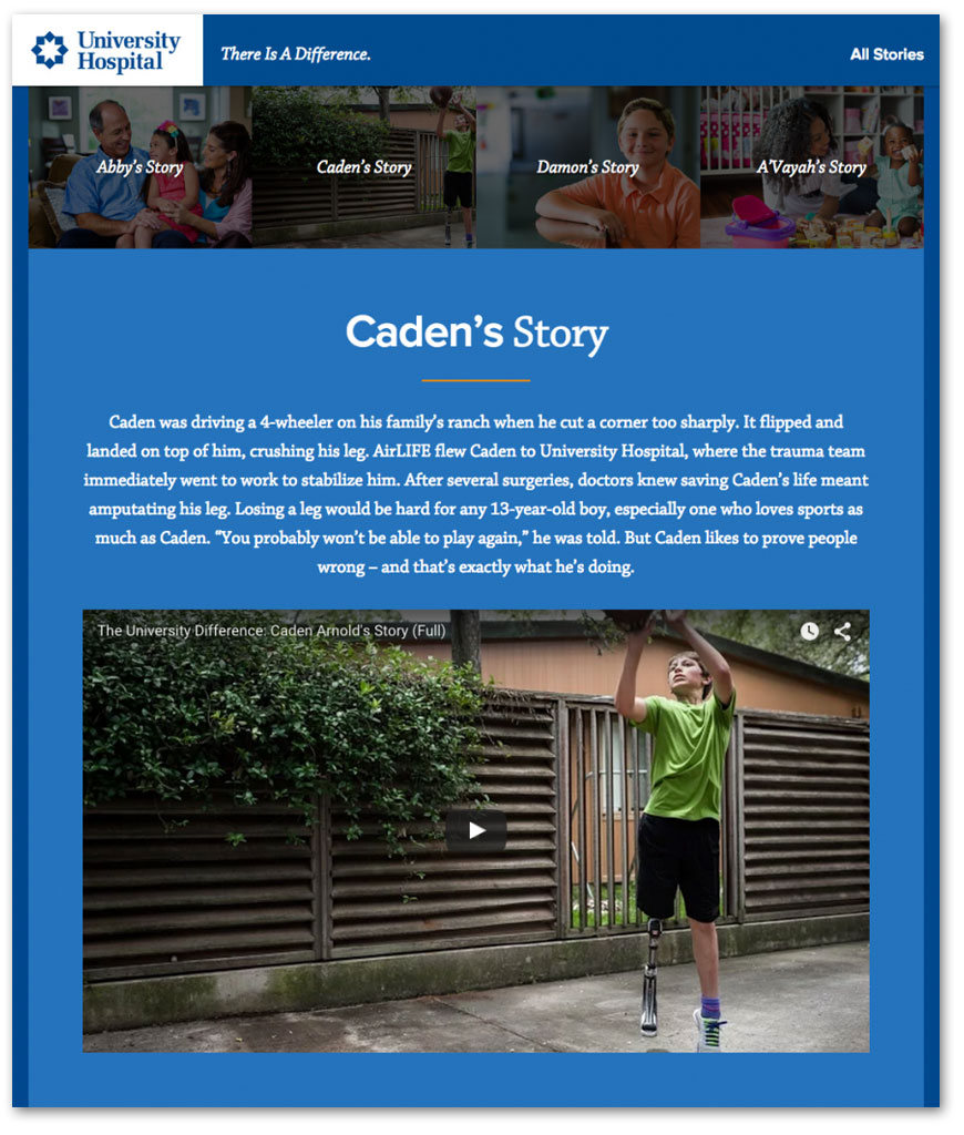 Caden's Story