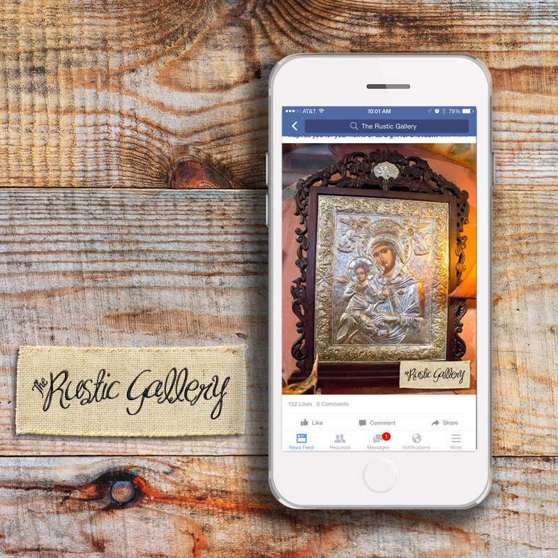 Rustic Gallery: Facebook Ads