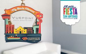 SAHCC 2016 Fiesta Medal