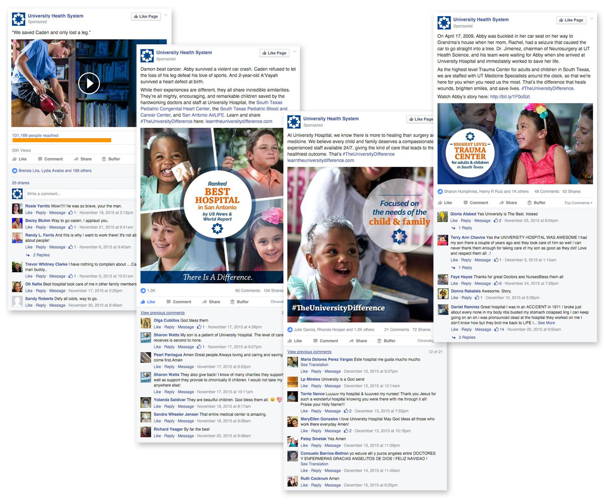 Facebook Ads with Engagement