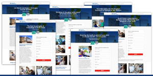 San Antonio Epilepsy Center Landing Page Designs