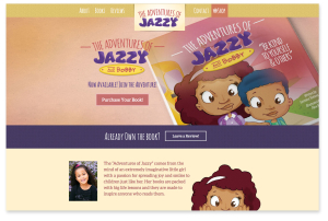 The Adventures of Jazzy - Home page