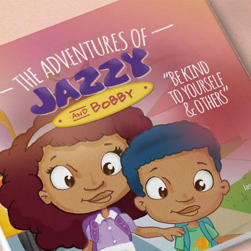 Adventures of Jazzy: Website