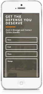 Mobile Responsive Contact Form