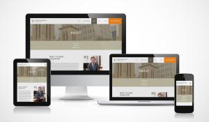 Responsive Attorney Website
