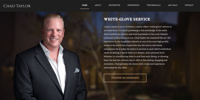 "Chad Taylor ""White Glove Service"""