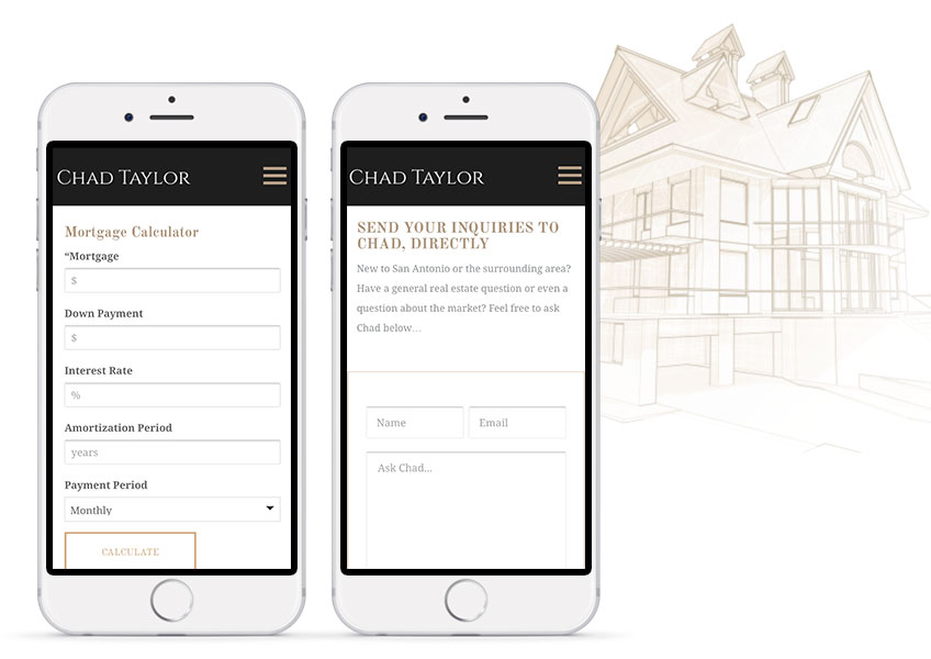 Website Tools: Mortgage Calculator & Ask Chad