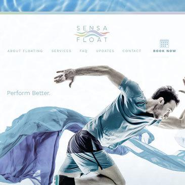 Sensa Float: Website