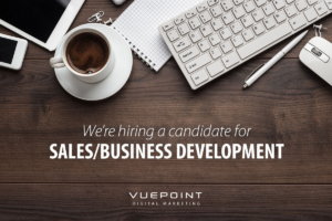 We're looking for a Business Development Manager