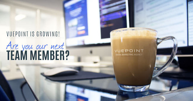 Vuepoint is growing! Are you our next team member?