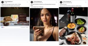 J-Prime Steakhouse Facebook Posts