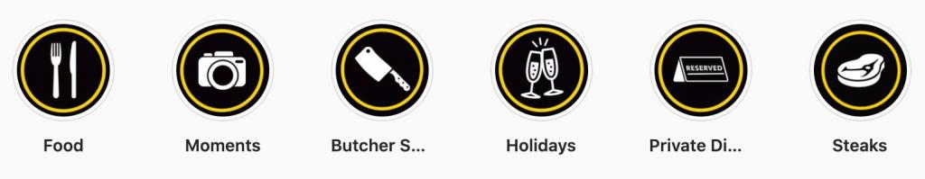 Custom Instagram Highlight Icons
