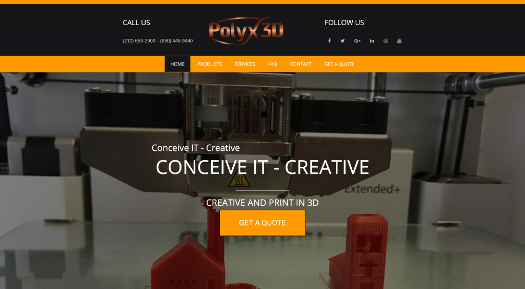 Old Polyx3D Website