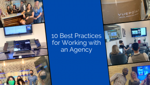 Working with an agency