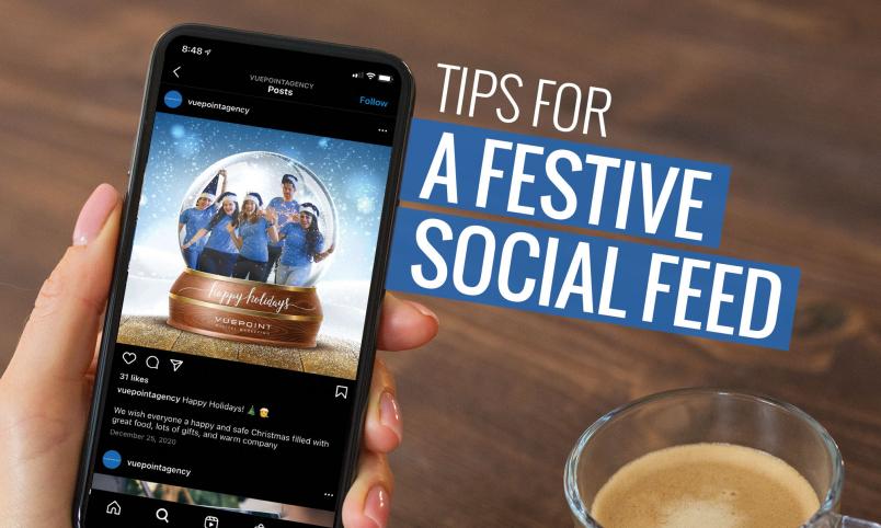 social media marketing feed